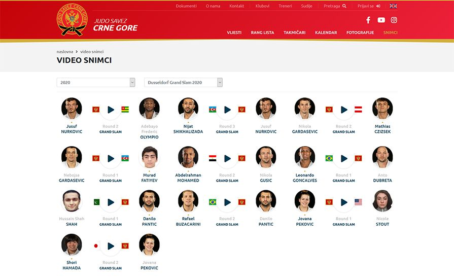 Judo Federation Montenegro
